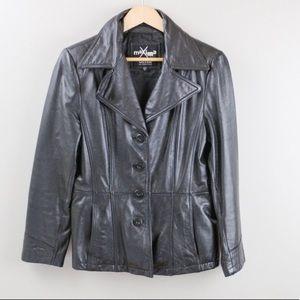 Maxima Wilson's Leather Black Jacket